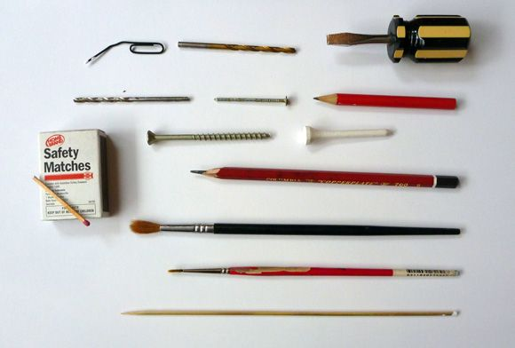 Dot Painting Tools All Of The Household Items Above Make Fantastic
