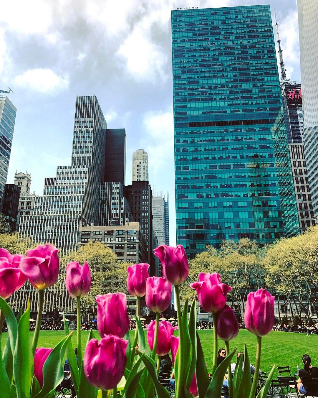 Bryant Park Tulips By Jstiles81 York Things To Do Bryant Park Honeymoon Holidays