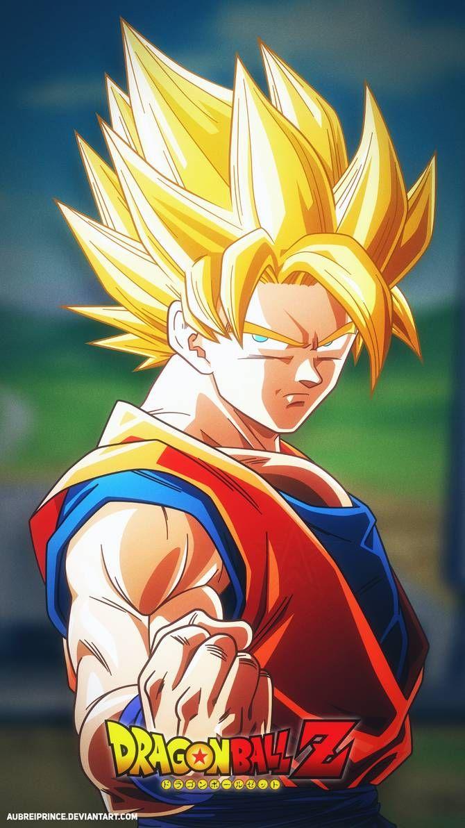 Super Saiyan Goku #8 [Alt.3] by AubreiPrince on DeviantArt