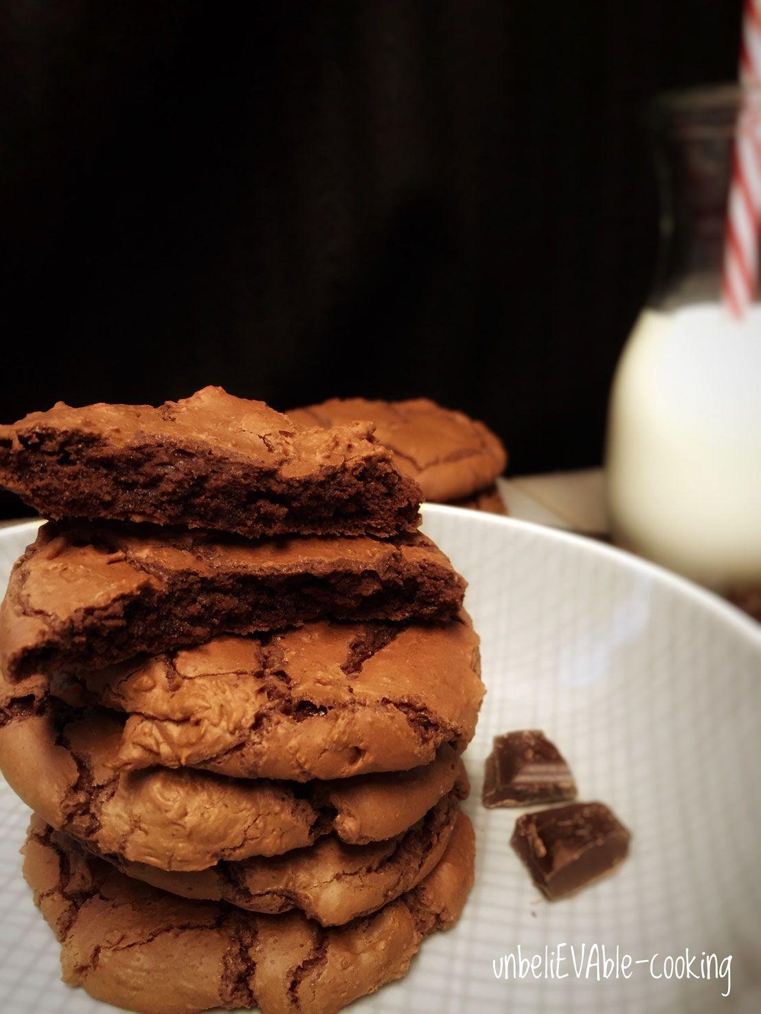 Außen Cookie - innen Brownie