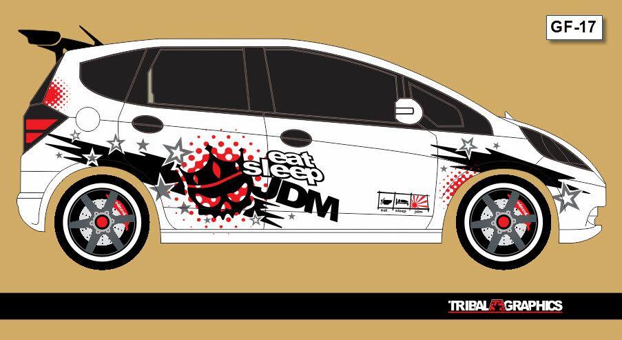 53 Koleksi Gambar Cutting Sticker Mobil Honda Jazz Gratis Terbaik