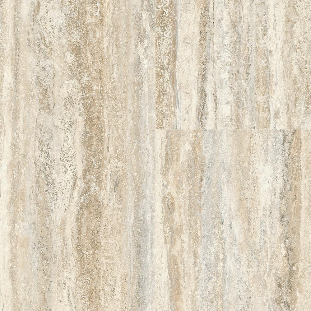 Home Decorators Collection Travertine Plank Natural 12 In Wide X 24 In Length Click Floating Vinyl Plank Flooring Luxury Vinyl Plank Flooring Vinyl Flooring