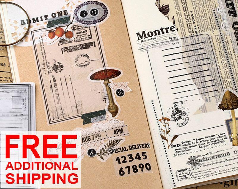 Vintage Style Vellum Paper Memo Pads Note Pads Label Scrapbooking Bullet Journal Planner Tn Accessories 30 Shee Vellum Paper Memo Pad Planner Bullet Journal