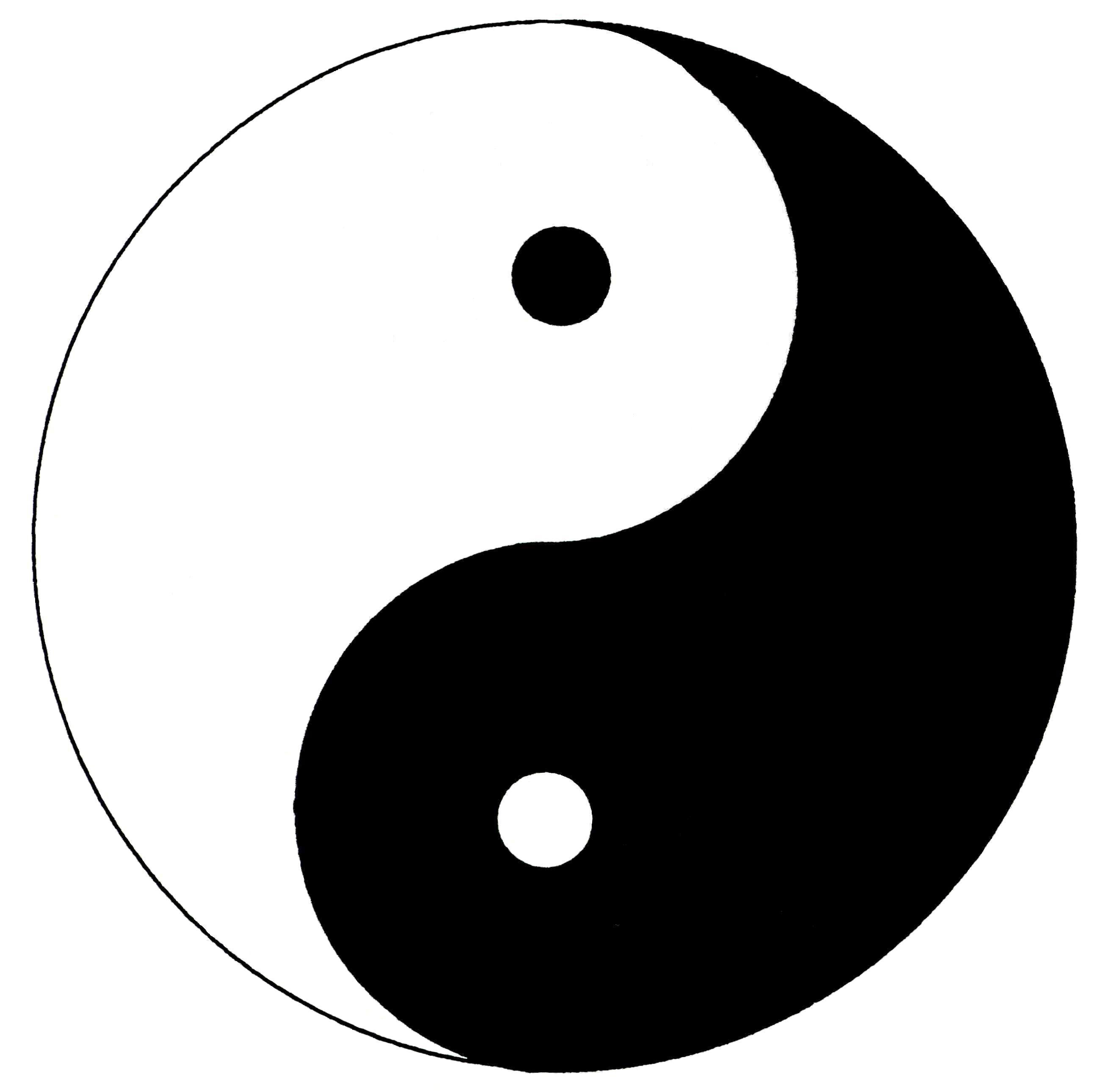 p3 this yin yang picture represents duality because the opposite rh pinterest com Colorful Yin Yang Yin Yang Border