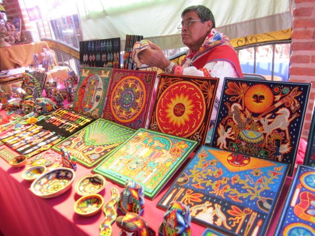 Huichol Yarn Paintings