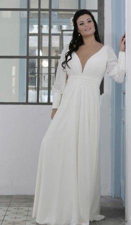 Vestidos de novia informales para gorditas