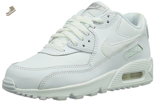 the latest 6d6e0 9dcbf Nike Kids Air Max 90 (GS) White Wolf Grey Running Shoe 6.5 Kids US - Nike  sneakers for women ( Amazon Partner-Link)