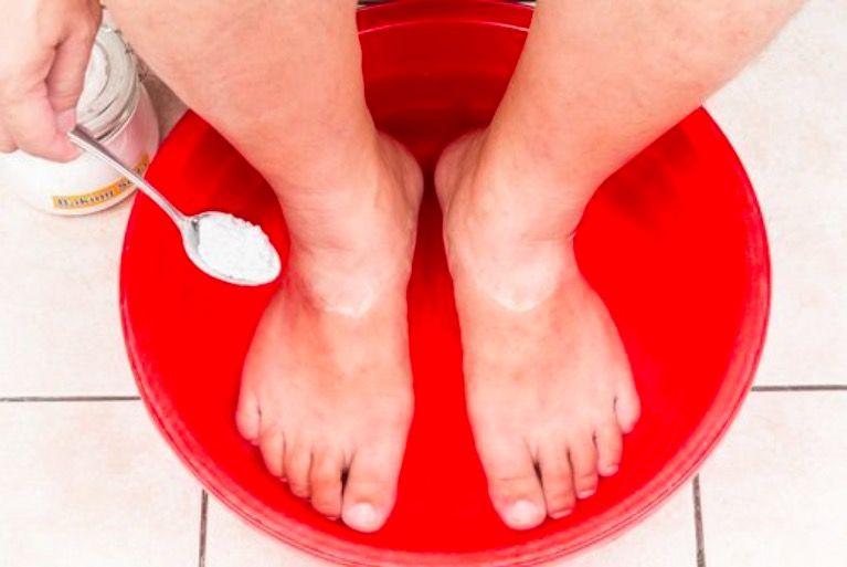 bicarbonate de soude soin des pieds