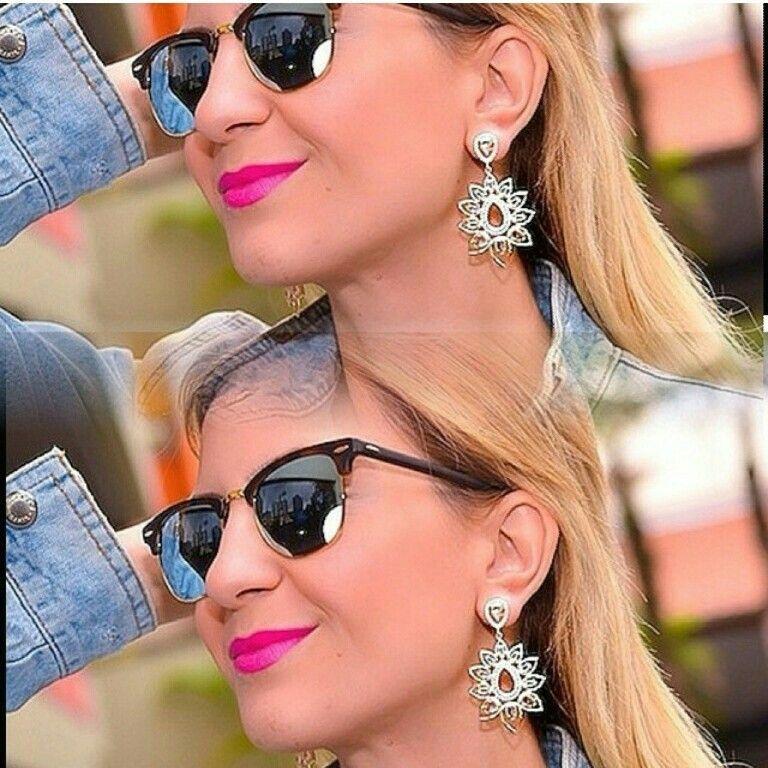 A Blogueira Lilian Miranda Com Brincos Da Nossa Designer Maira