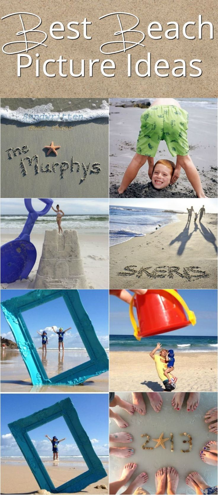 Best Beach Picture Ideas! Great Ideas For Family Vacation