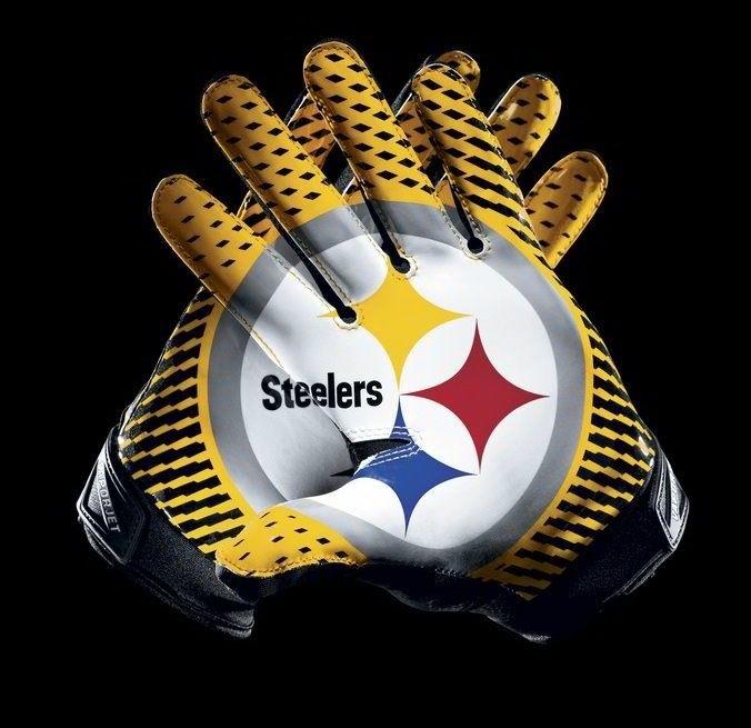 Steelers Football Gloves