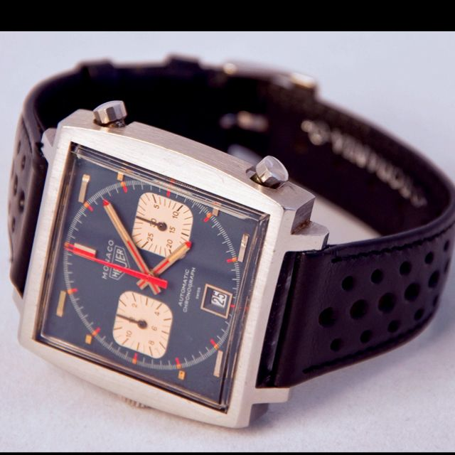 Heuer Monaco. The King of Cool watches.
