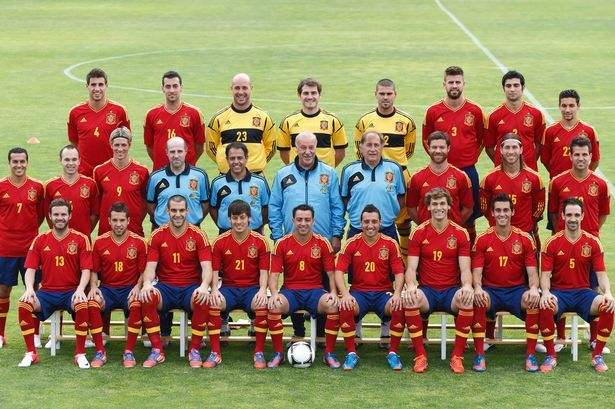 Euro 2012 Preview Your At A Glance Guide To The 16 Teams In Polkraine Spain National Football Team Spain Football Soccer Team Photos