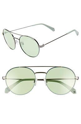 410d8ea86c1 POLAROID Designer Round 55mm Polarized Sunglasses