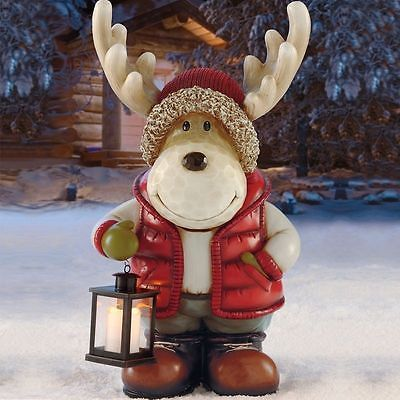 Indoor Outdoor Standing Christmas Moose