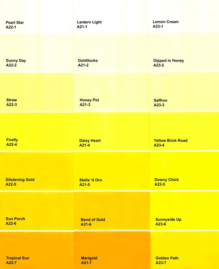 Shades Of Yellow Paint To Add Some Sunshine Your Home Discover The Right Color For Make A Pleasant Atmosphere And You Enjoy Every Time