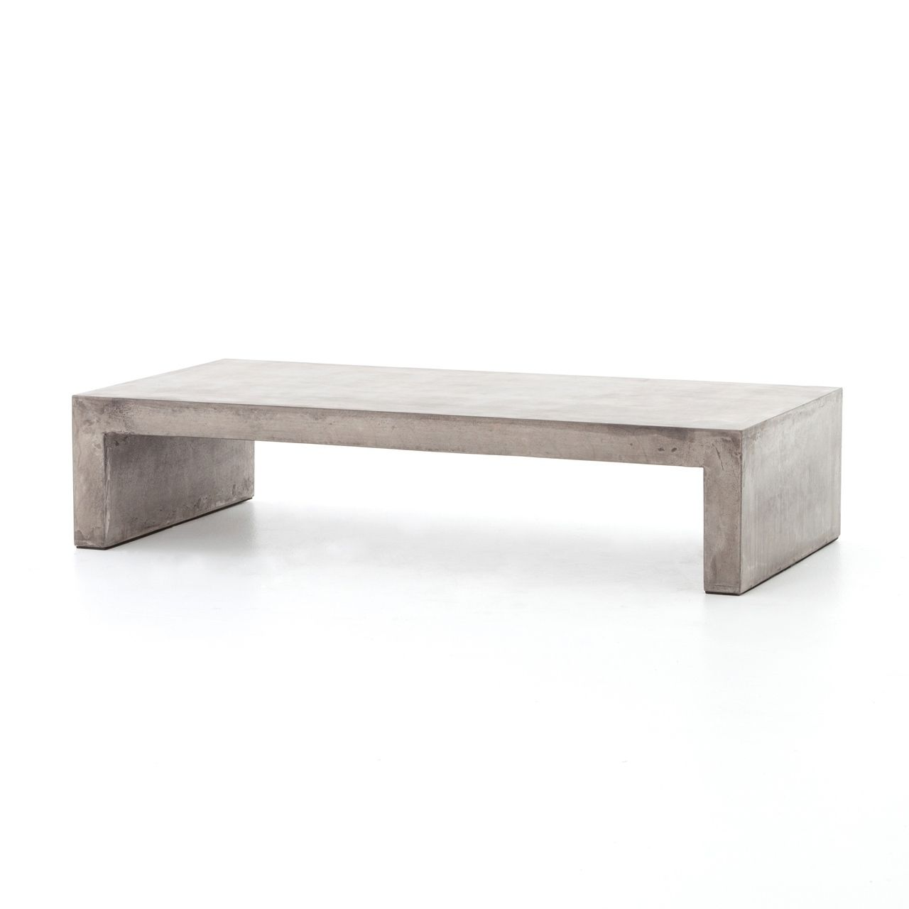 Parish Indoor Outdoor Concrete Coffee Table 60 With Images