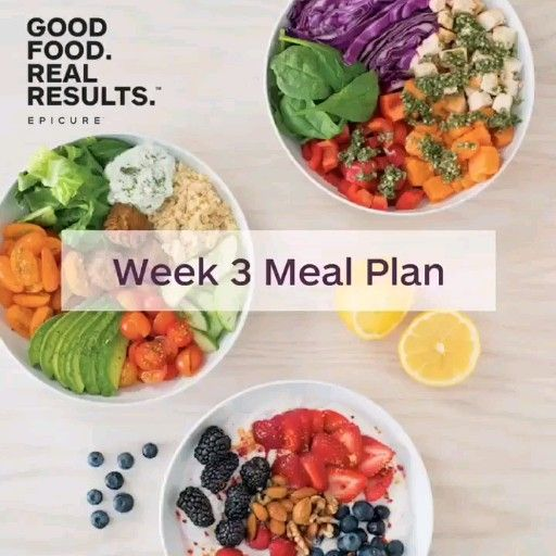 Good Food Real Results Meal Plan -   18 healthy recipes For Weight Loss clean eating ideas