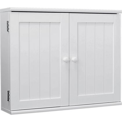 2 door wooden bathroom cabinet white. 2 door wooden bathroom cabinet - white. at homebase -- be inspired and make white u