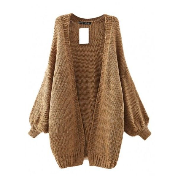 Cocoon me Oversized Cardigan (47 NZD) ❤ liked on Polyvore ...