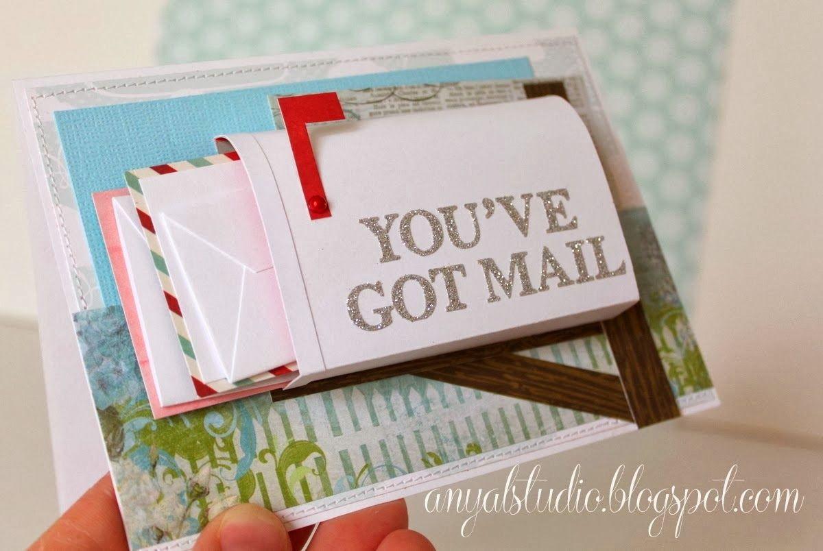 My Creative Corner Mail Box Card Tutorial Unique Birthday Cards Card Mailbox Box Cards Tutorial
