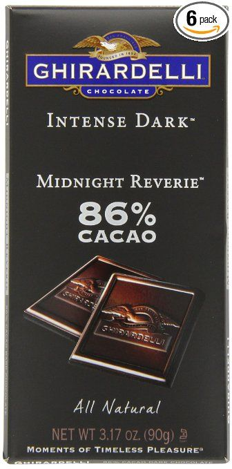 Ghirardelli Chocolate Intense Dark Bar, Midnight Reverie, 3.17 oz., 6 Count #ghirardelli #grocery