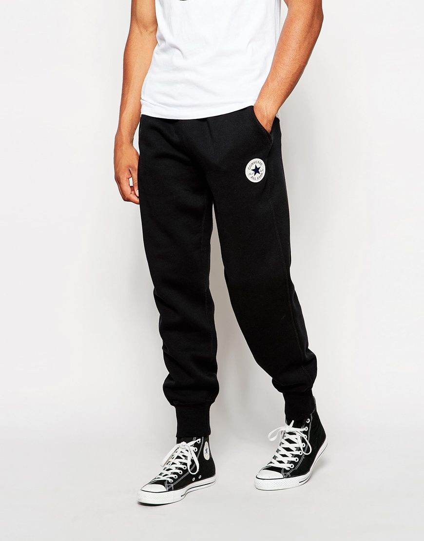 605a7b5ff62 Just beautiful Converse Cuffed Joggers - Black - http   www.fashionshop.