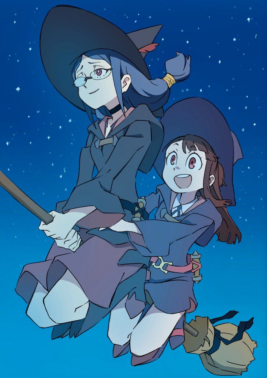 Pin by Korn ♡ on Little Witch Academia Witch, Little