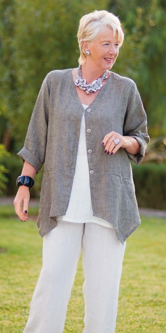 Smart clothes for mature women