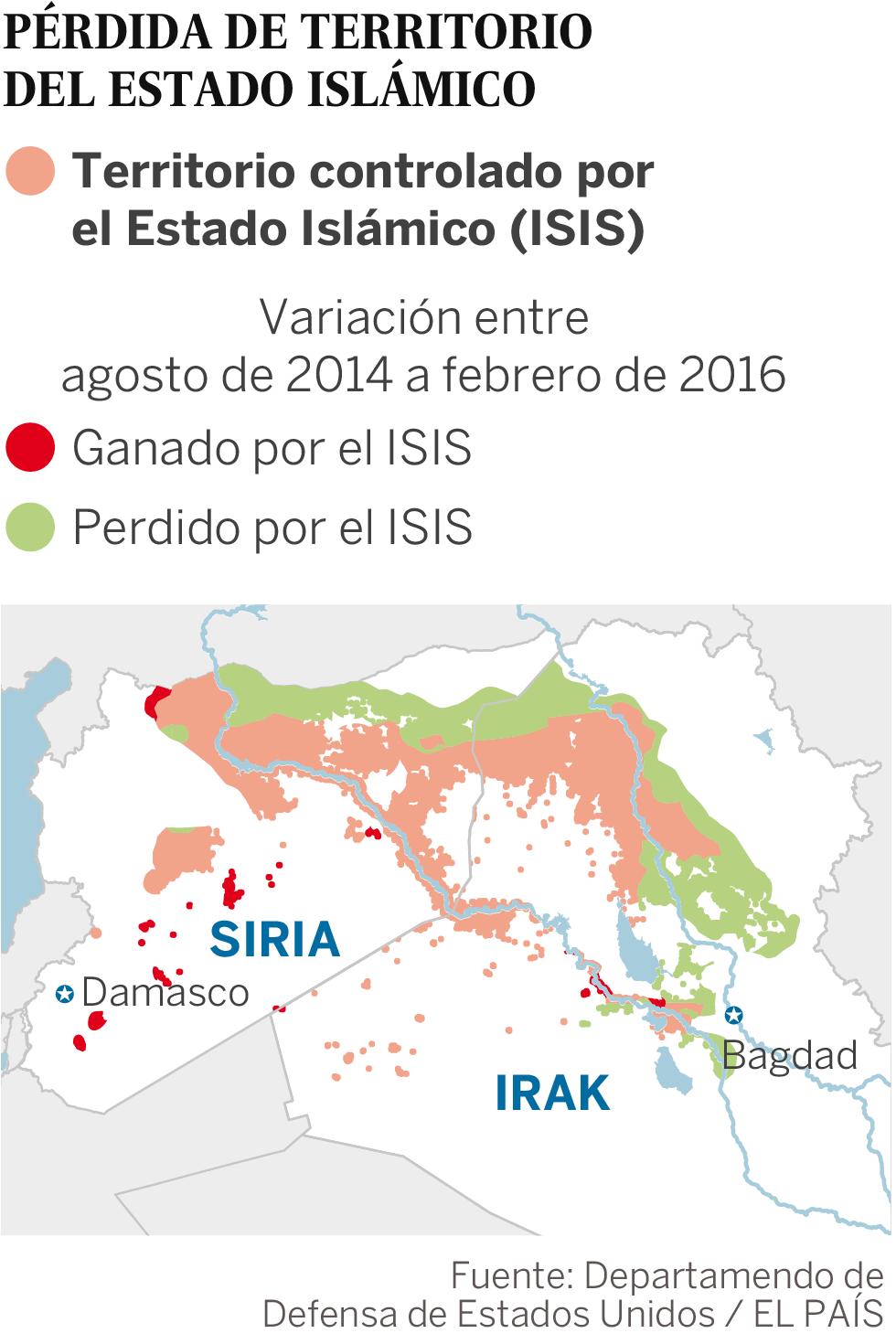 2016-04-02 Pérdida de territorio del Estado Islámico | Actualidad | EL PAÍS