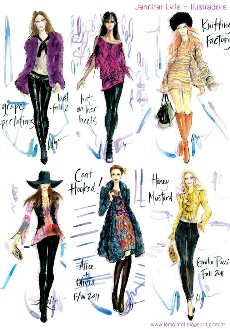 Resultado de imagen para sketchbook diseño modas