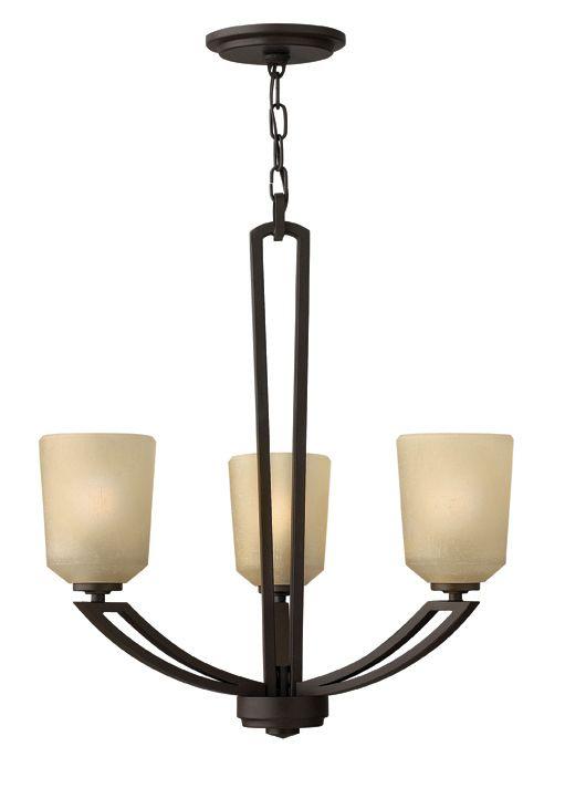 Hinkley lighting 3 light parker chandelier 265 hall light