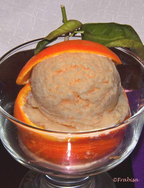 Helado De Mandarina Postres Congelados Helados Caseros La Cocina De Frabisa