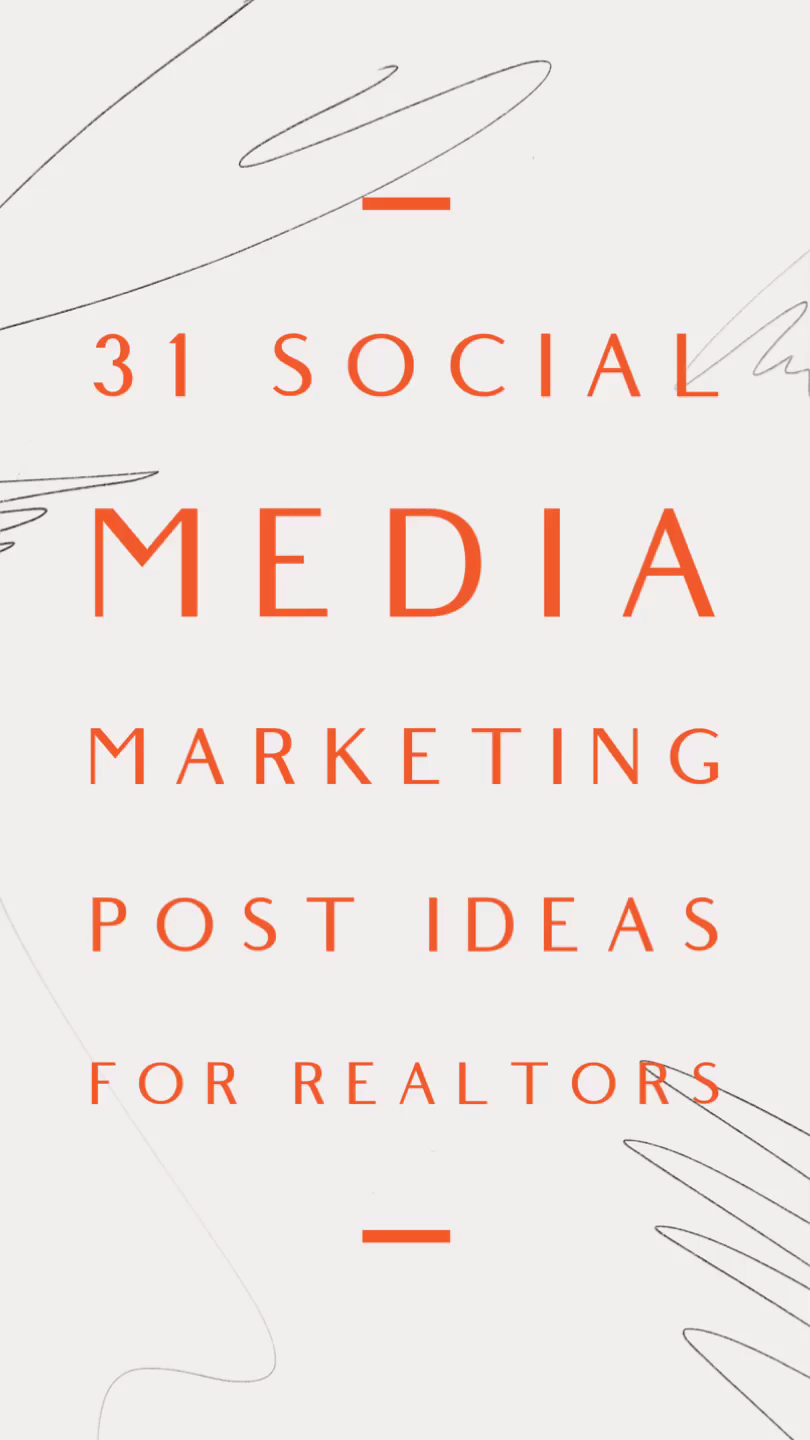 These social media content ideas are designed to help real estate agents boost engagement, grow brand awareness and to stay top of the mind.