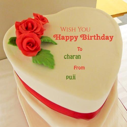 Write Name On Birthday Cake And Wishes Free
