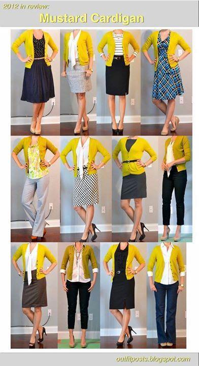 74c91deb5c Amarillo Mustard Cardigan Outfit