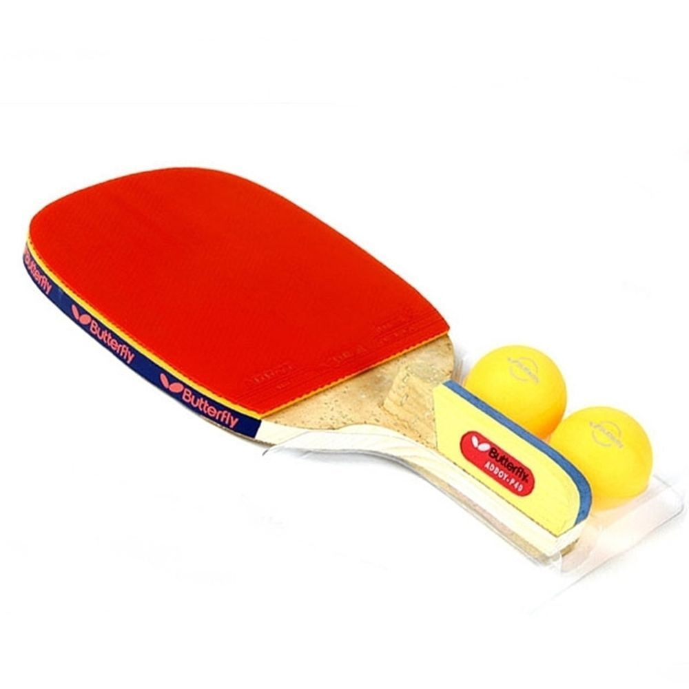 Butterfly Addoy P40 Table Tennis Bat Ping Pong Racket Penholder Paddle 2 Ball Butterfly Table Tennis Bats Table Tennis Table Tennis Racket