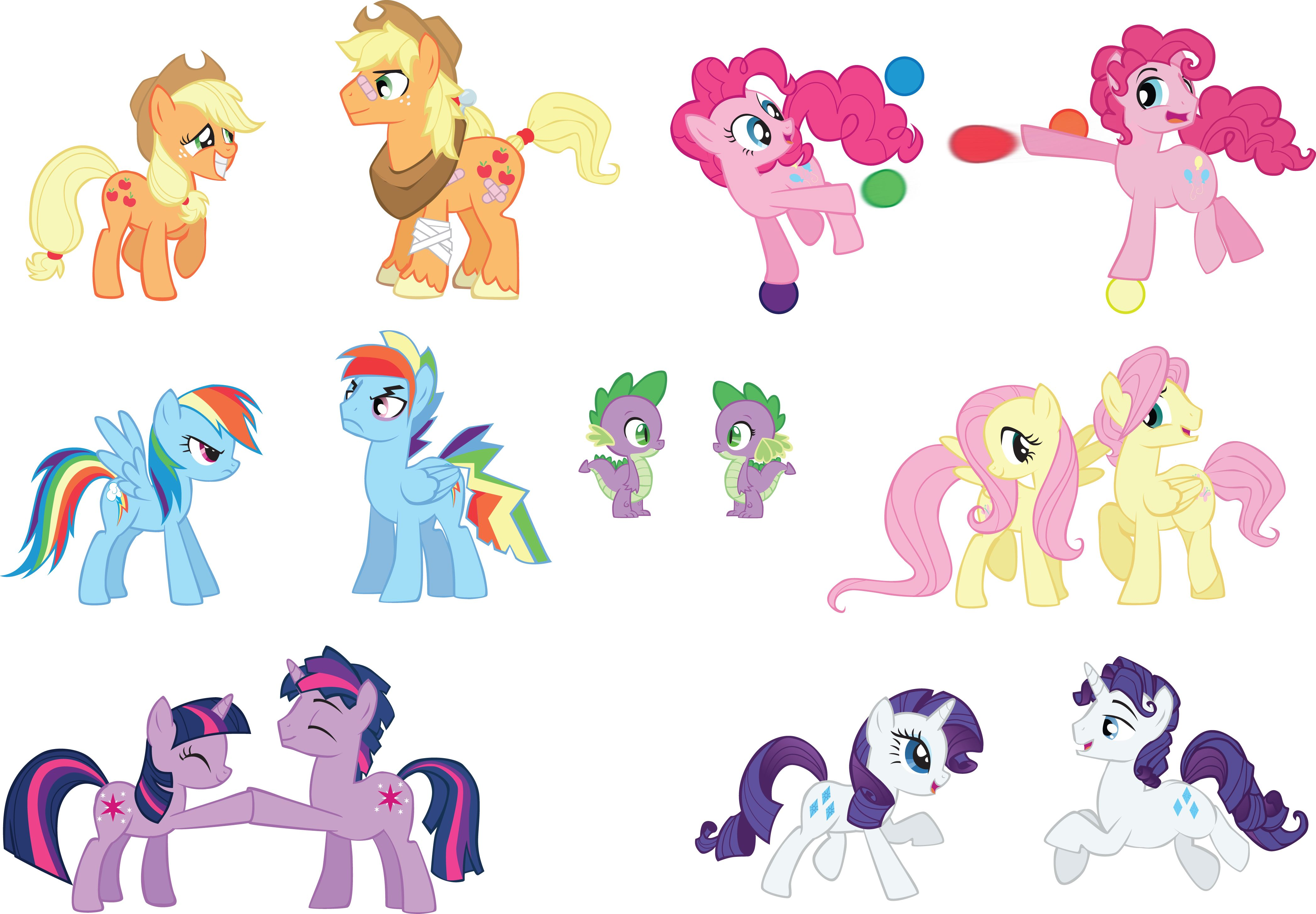 My Little Pony Gender Swapping My Little Pony Pinterest Gender