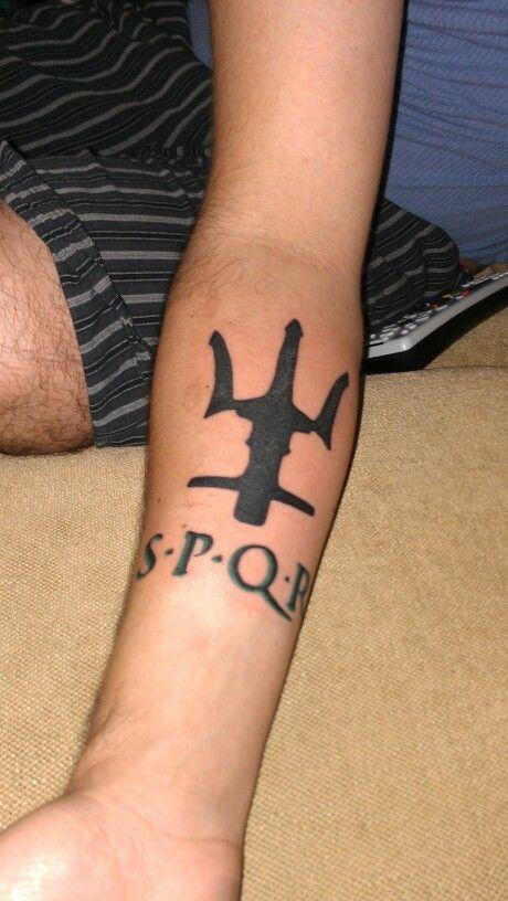 When Did The Spqr Tattoos Originate: My Percy Jackson Inspired Tattoo