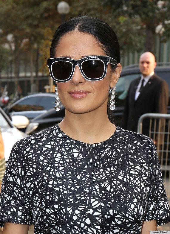 efc16679a9a Salma Hayek  sunglasses