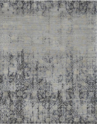 Breathtaking New Hand Knotted Antique Washed Masha Rug From Surya Msh 4005