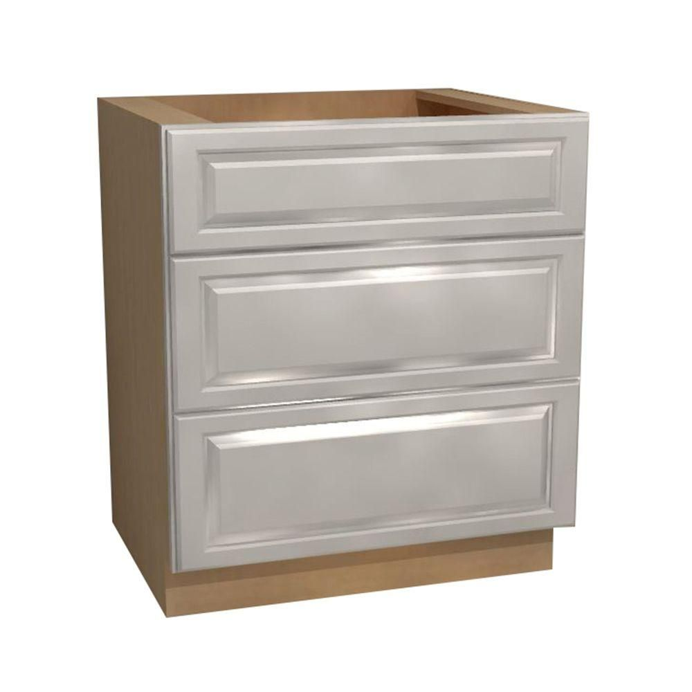 Home Decorators Collection Hallmark Assembled 36x34 5x24 In Cooktop Base Kitchen Cabinet With False Top Drawer In Arctic White Bct36 Haw Products In 2019