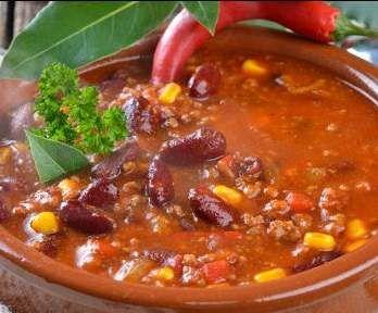 chili con carne rezept rezpte aus dem themomix herzhaft chili con carne chili und soup. Black Bedroom Furniture Sets. Home Design Ideas