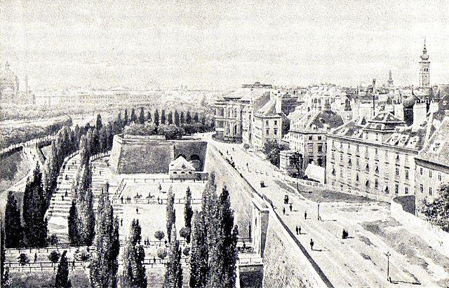Wien Ringstraße 1857