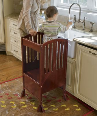 Kids Kitchen Helper Safety Tower Step Stool Osa Exclusive