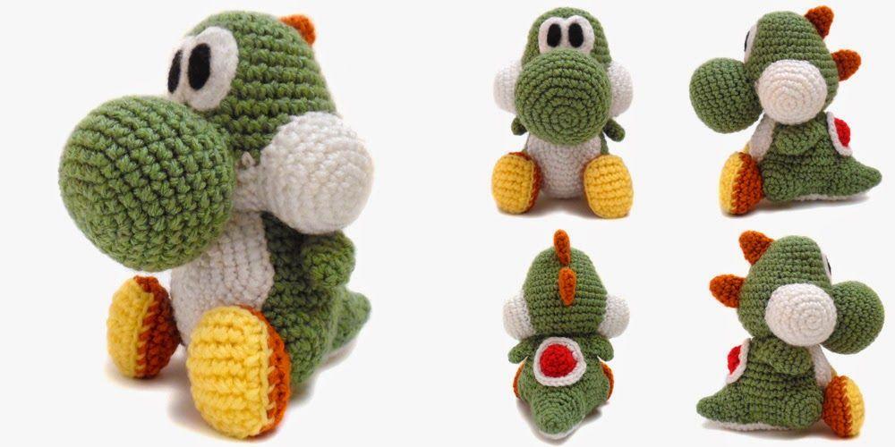 i crochet things: Pattern: Yoshi Amigurumi | Amigurumi | Pinterest