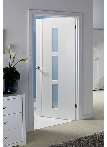 White Interior Doors sierra blanco pre-glazed internal door | home improvements