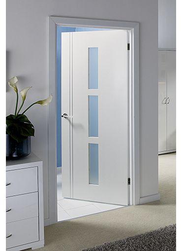 Sierra Blanco Pre Glazed Internal Door