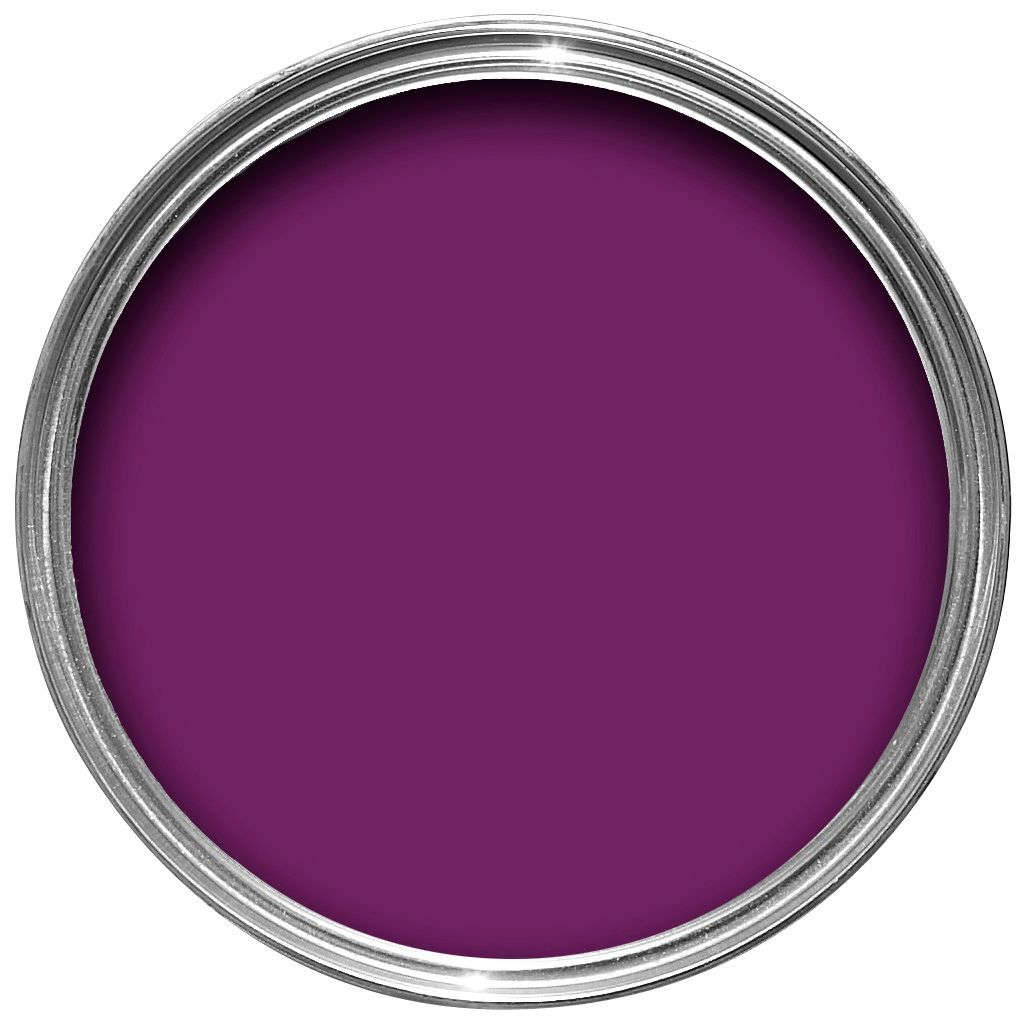 Purple-Exterior-Gloss-Paint. Dulux Made By Me Interior Exterior Purple Passion Gloss Paint 750ml Departments Diy