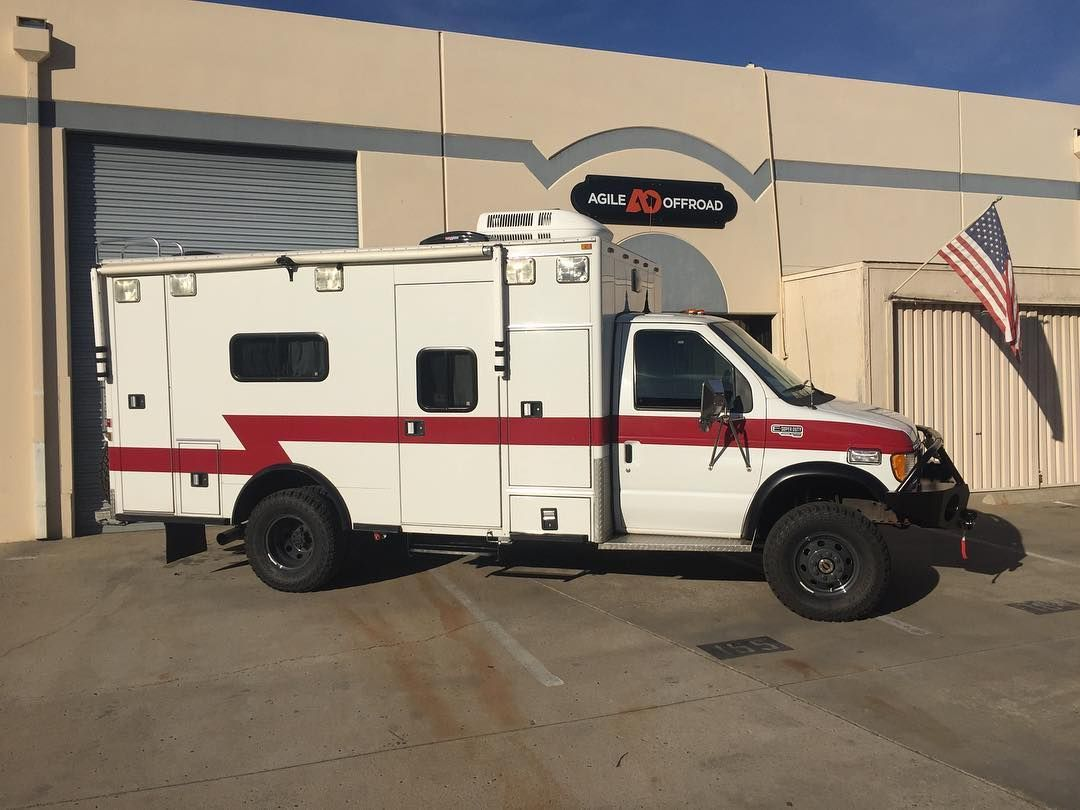a6c419cd70 Ambulance conversion with Aluminess front bumper